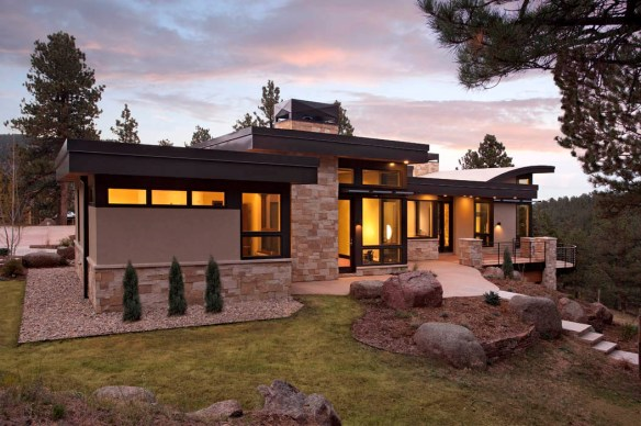 hytte-i-moderne-stil