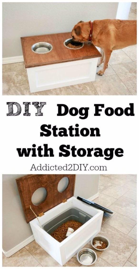 hundemat-stasjon-med-oppbevaring