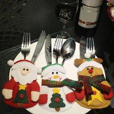 Bestikkholder snømann pepperkake julenisse jul