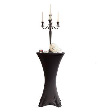 Coctail spandex bord trekk sort miljøbilde woweffekt