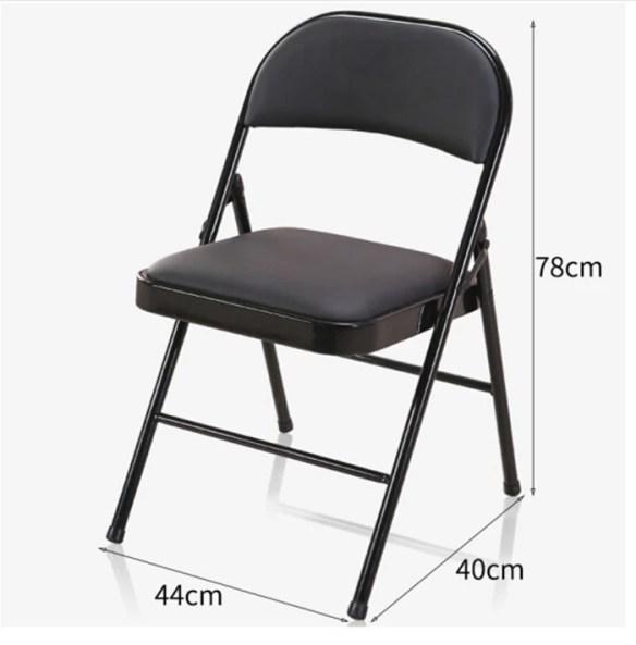 Størrelse klappstol stoltrekk til klappstol