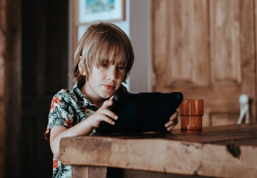 What exactly is the impact of technology on child growth and development?