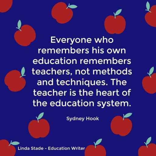 What effective teachers do is change lives.