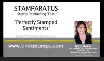 Stamparatus: Perfectly Stamped Teeny Sentiments
