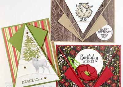 Arrow Fold Cards