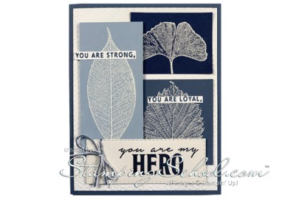 Loyal Leaves:  Hero Card