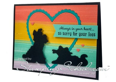 Pampered Pets Sympathy Card