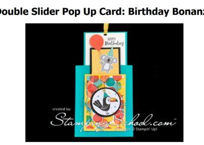 Double Slider Pop Up Card