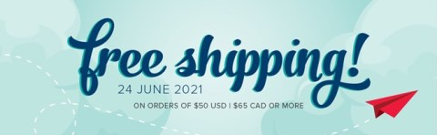 FREE Shipping on June 24th!