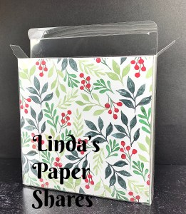 Linda's Holiday Paper, Ribbon and Accessory Shares!