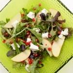 Fetas un granātābolu salāti