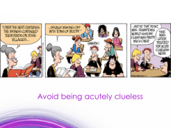 Avoid cluelessness