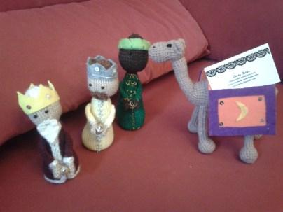 Reyes con camello: 25€