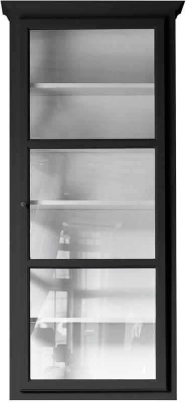 Product image of Lindebjerg Design Classic V4 Black Vitrine Cabinet