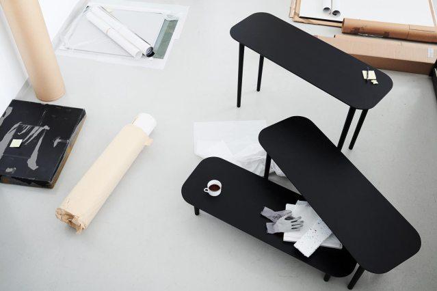 Billede af Lindebjerg Design Dark Oak Bordkollektion