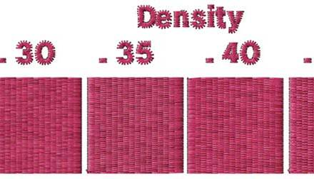 Effects of Stitch Length & Density on Stitch Count