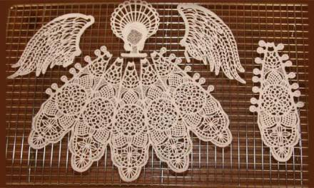 Getting Great Free-Standing Lace Embroidery Results