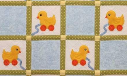 Fuzzy Wuzzy Ducky Quilt