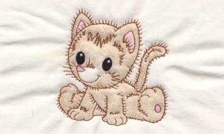Easy Multi-Media Technique with Redwork Embroidery Designs