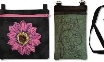 More Ways to Customize an In-the-Hoop Bag