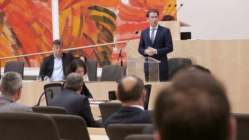 400 Mio. Euro für neues Kurzarbeitszeitmodell - Kurz schließt Notverstaatlichungen nicht aus - Noch offene Fragen zu Schadenersatzansprüchen nach dem Epidemiegesetz. (Bild: © Parlamentsdirektion / Thomas Topf)