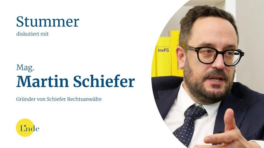 Stummer diskutiert mit Mag. Martin Schiefer