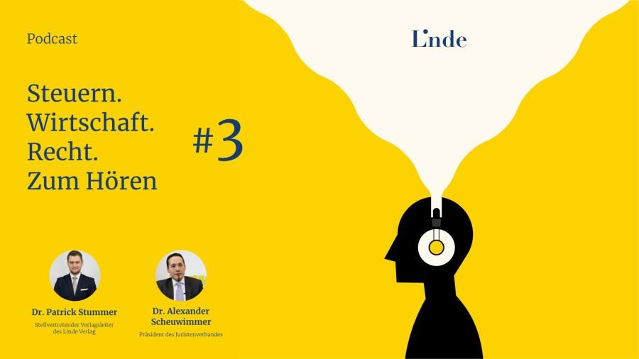 #3 Linde Verlag – Steuern. Wirtschaft. Recht. Zum Hören.