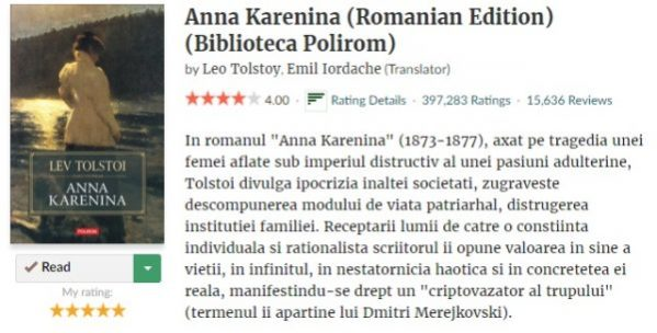 Review Anna Karenina notare