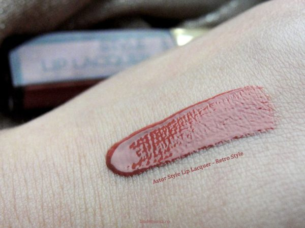 Review Astor Style Lip Lacquer