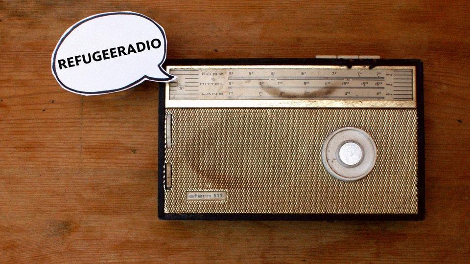 Symbolbild Radio Refugee Radio vom Funkhaus Europa Foto: © WDR