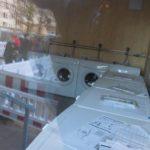 Waschmaschinen und Trockner in der Unterkunft Steigertahlstraße