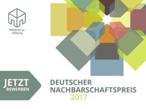Deutscher Nachbarschaftspreis 2017 Logo