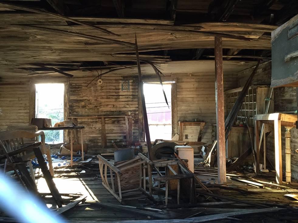 Second floor interior October 2015. Photo by Sam Higdon.