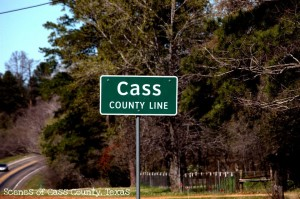 Cass Co Line Rd Sign