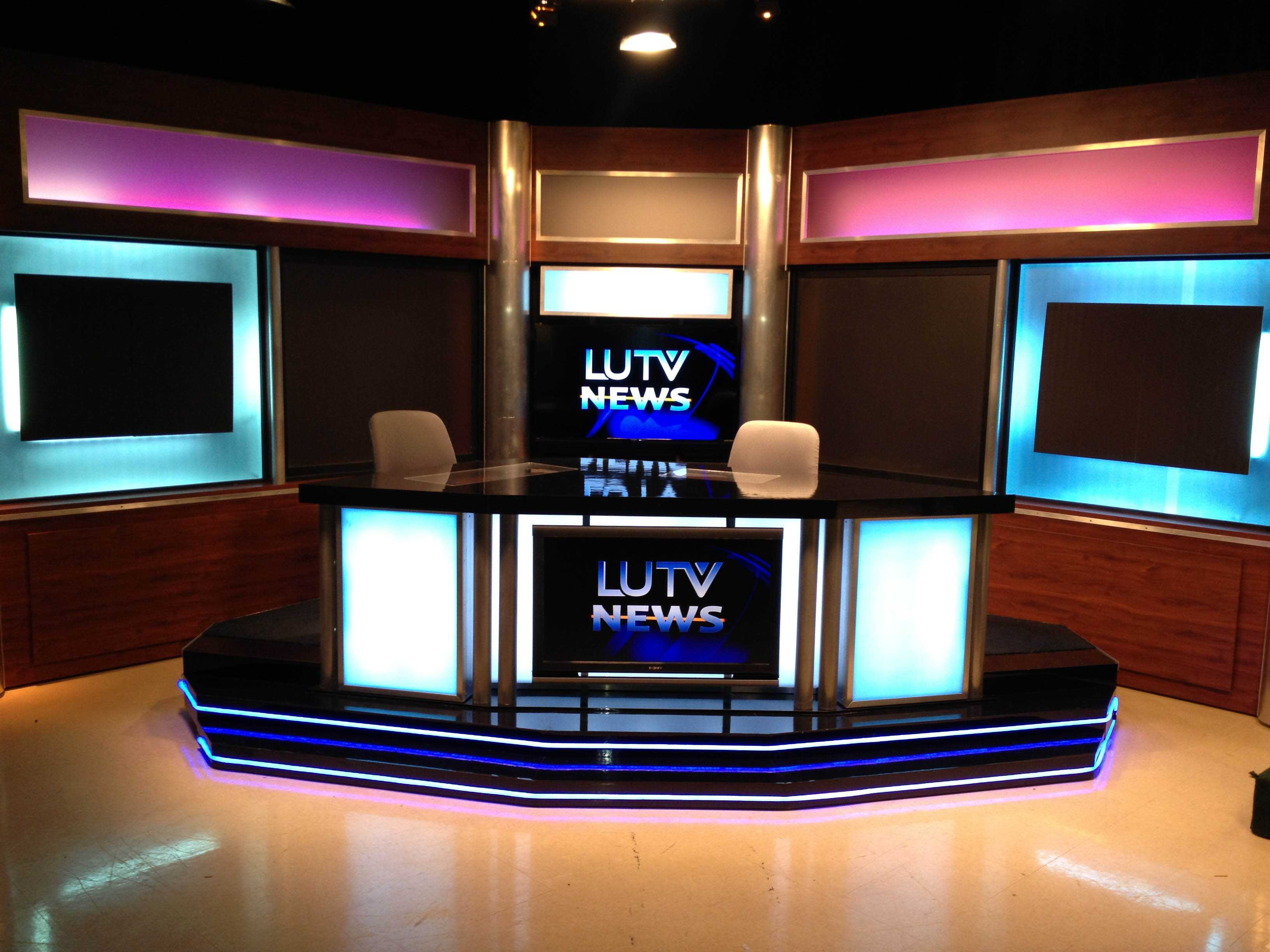 News Set Donated To LUTV