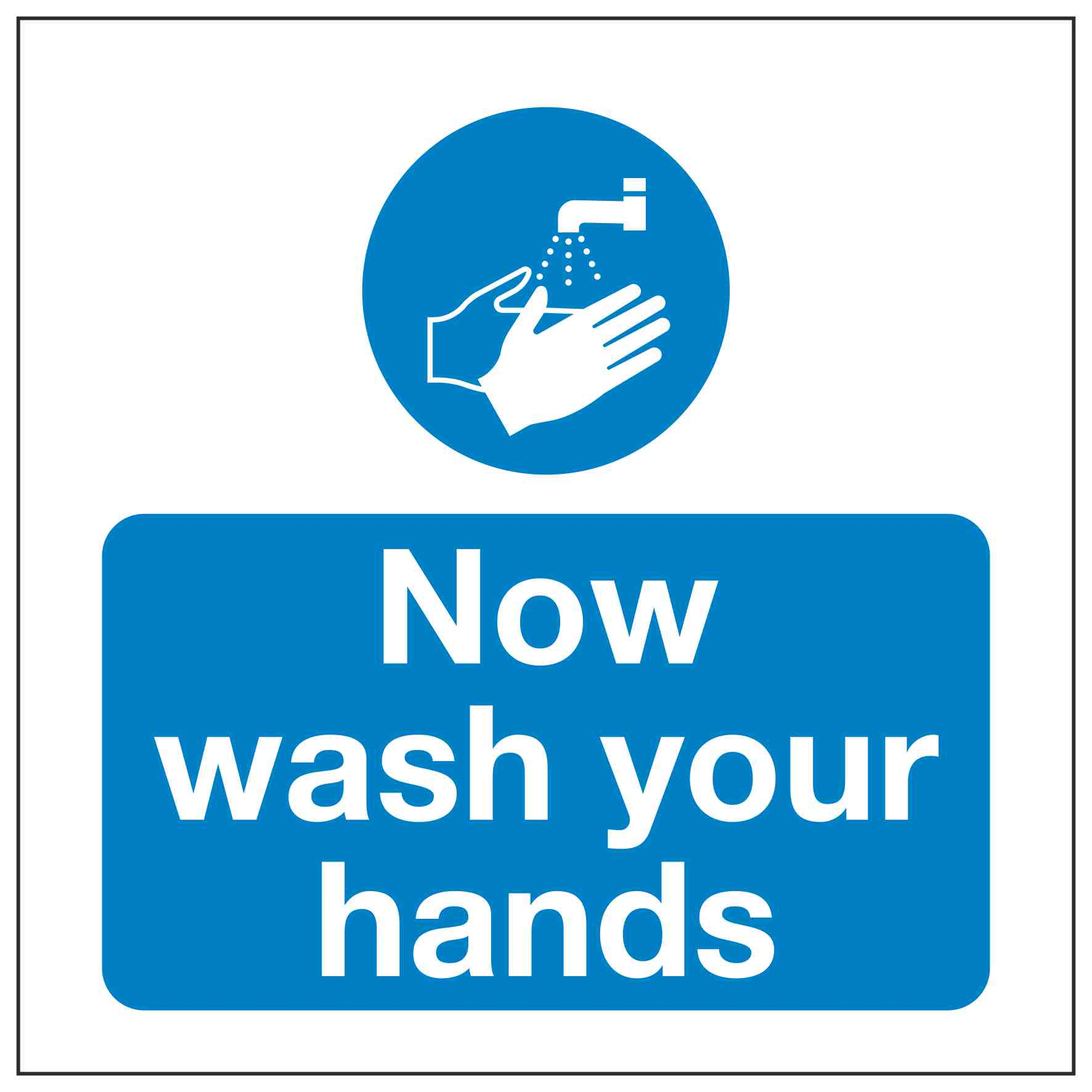 Now Wash Your Hands Linden Signs Amp Print