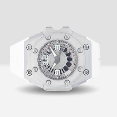 Linde Werdelin pre-owned Oktopus moonlite watch