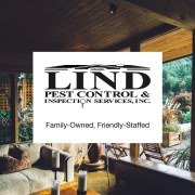 Lind Pest Control & Inspection Services logo, Randy & Beth Lind