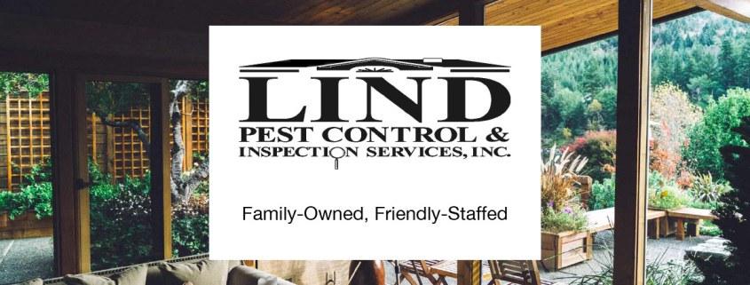 Lind Pest Control & Inspection Services logo, Randy & Beth Lind