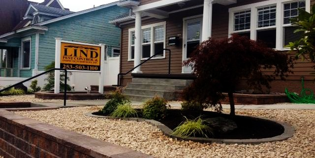 Lind Pest Control Office in Tacoma, Washington