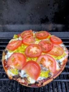 Beth's specialty BBG Pizza 8