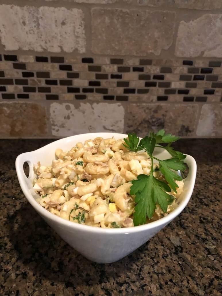 Team Lind Summer Macaroni Salad recipe by Beth Lind