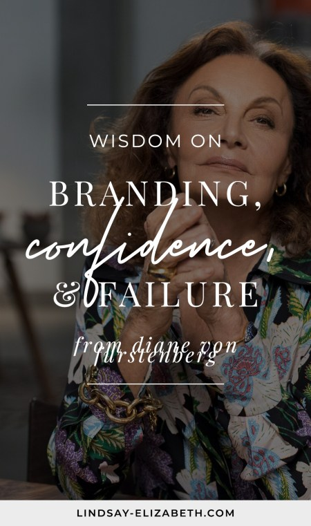 Soak up some powerful business advice on branding, confidence, and failure from iconic fashion designer and entrepreneur Diane von Furstenberg from her masterclass on building a fashion brand.