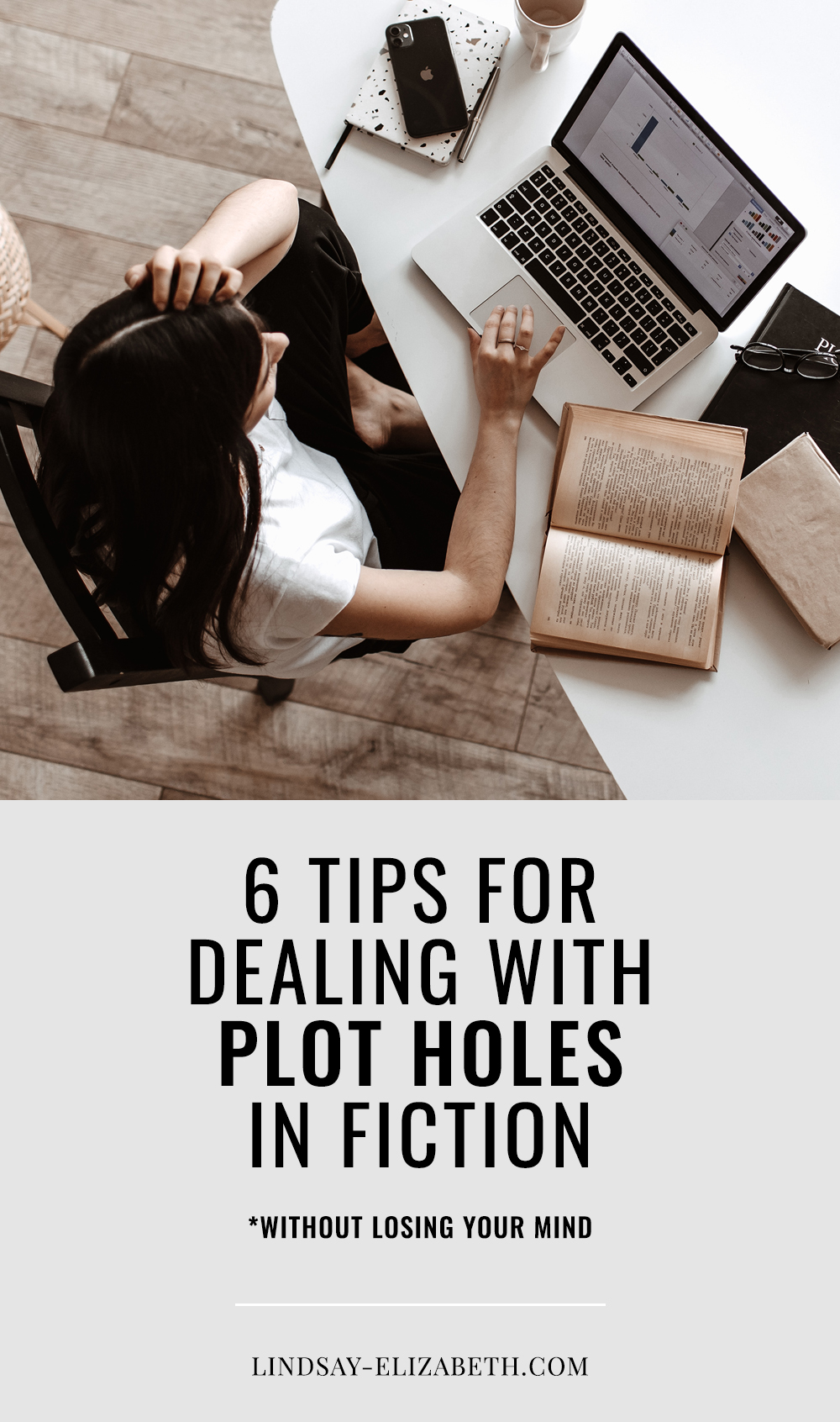 Plot holes are a dreaded but inevitable reality of writing fiction. Every author runs into them in the process of writing a novel at some point or another. Even if it seems impossible at the moment to fix certain ones that seem intent on breaking your story, there is always a way out. Here are some tips on how to deal with plot holes and slay them like a master when they arise. #writinganovel #writingfiction #writingadvice #writingtips #writers #authors