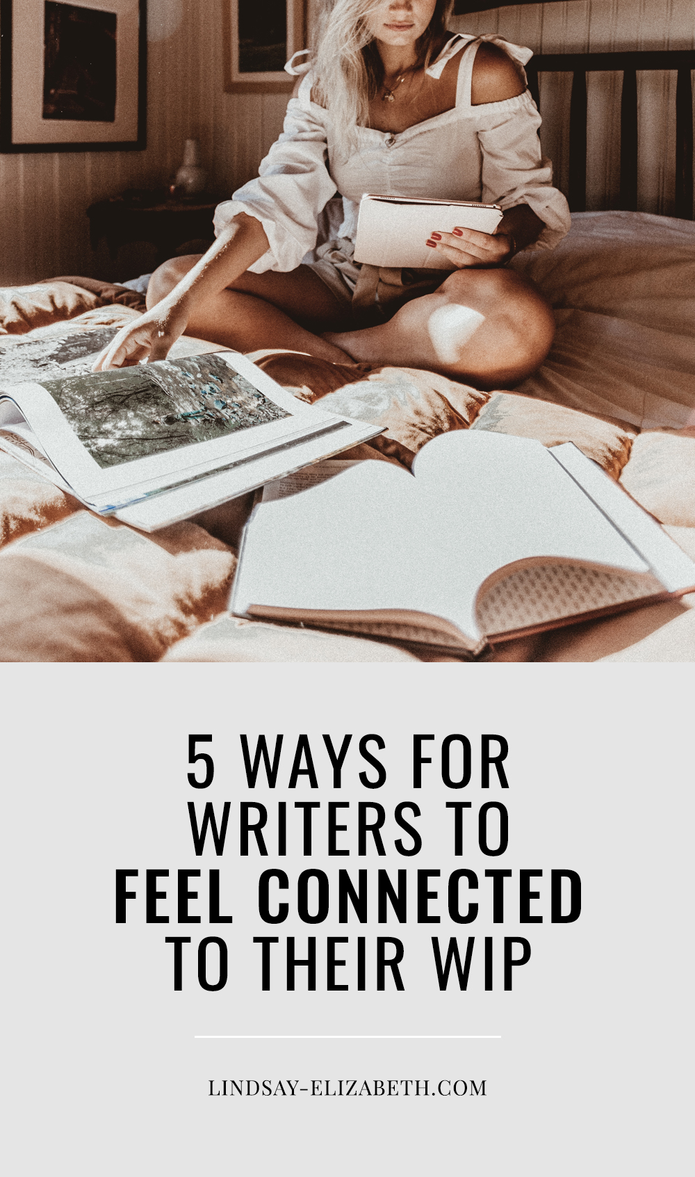 Struggling to fully connect with your work-in-progress? Throughout the long process that is writing a novel, you're bound to lose that sense of connection with your story at least a few times - it's totally normal. Try these easy tips to nurture, deepen, and reignite the connection whenever you feel it slipping. #writers #authors #writingadvice #writingtips #writinganovel