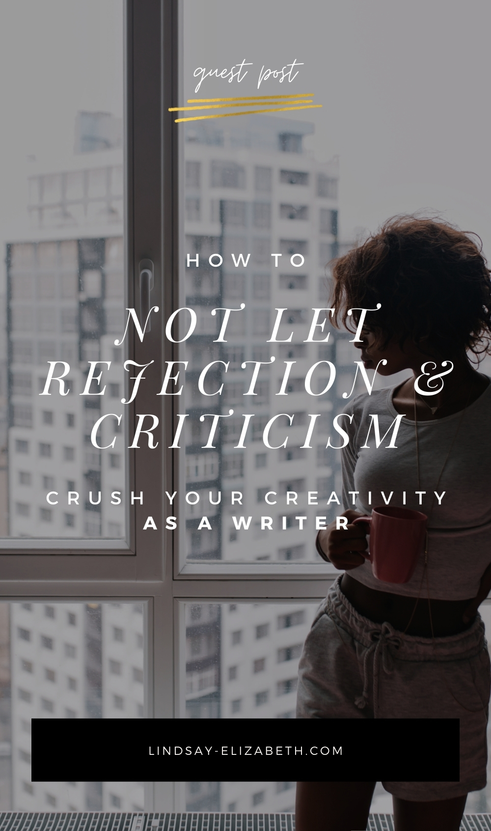 Rejection and criticism are inevitable parts of being a writer (or any creative, for that matter), but the reality of it can be soul-crushing at times. Author Christina Rann offers brilliant advice on how to deal with criticism as a writer so it doesn't kill your creativity (or your spirit). // writing tips | writing advice | writers | authors | writing a book | writing fiction