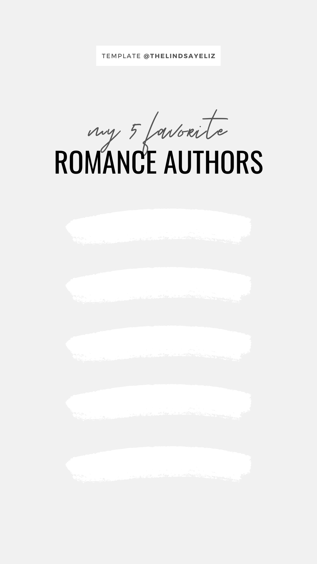 Fill out these fun Instagram story templates for romance lovers to share your favorite books, preferences, and opinions with your followers and keep them posted on your current romance reads. #bookish #igstories #igtemplates #templates #bookastagram