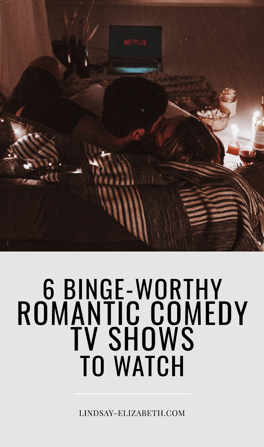 Looking for a good, satisfying rom-com binge-watch? Here are six romantic comedy TV shows for you to check out on Netflix, Hulu, and other platforms that offer you the perfect amount of fun, romance, escapism, and heart-centered stories. #romanticcomedies #romcoms #netflix #bingewatch