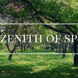 The Zenith of Spring