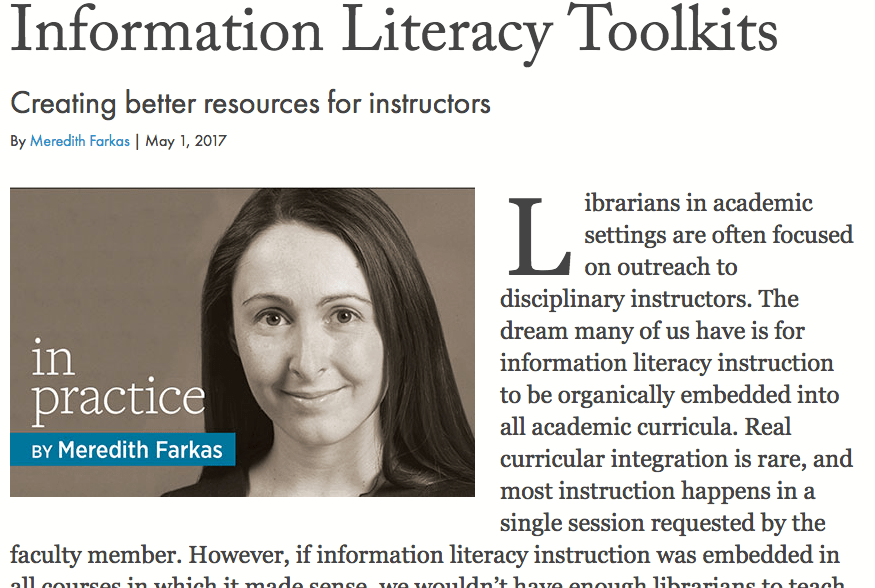 Pollak Library eLearning Recognized in American Libraries